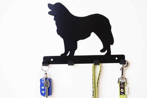 Leonberger - Dog Lead / Key Holder, Hanger, Hook - Unique Metalcraft