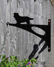 Load image into Gallery viewer, Norfolk Terrier Hanging Basket Bracket