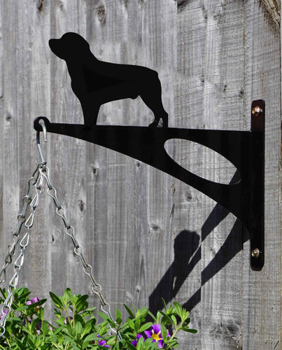 Rottweiler Hanging Basket Bracket