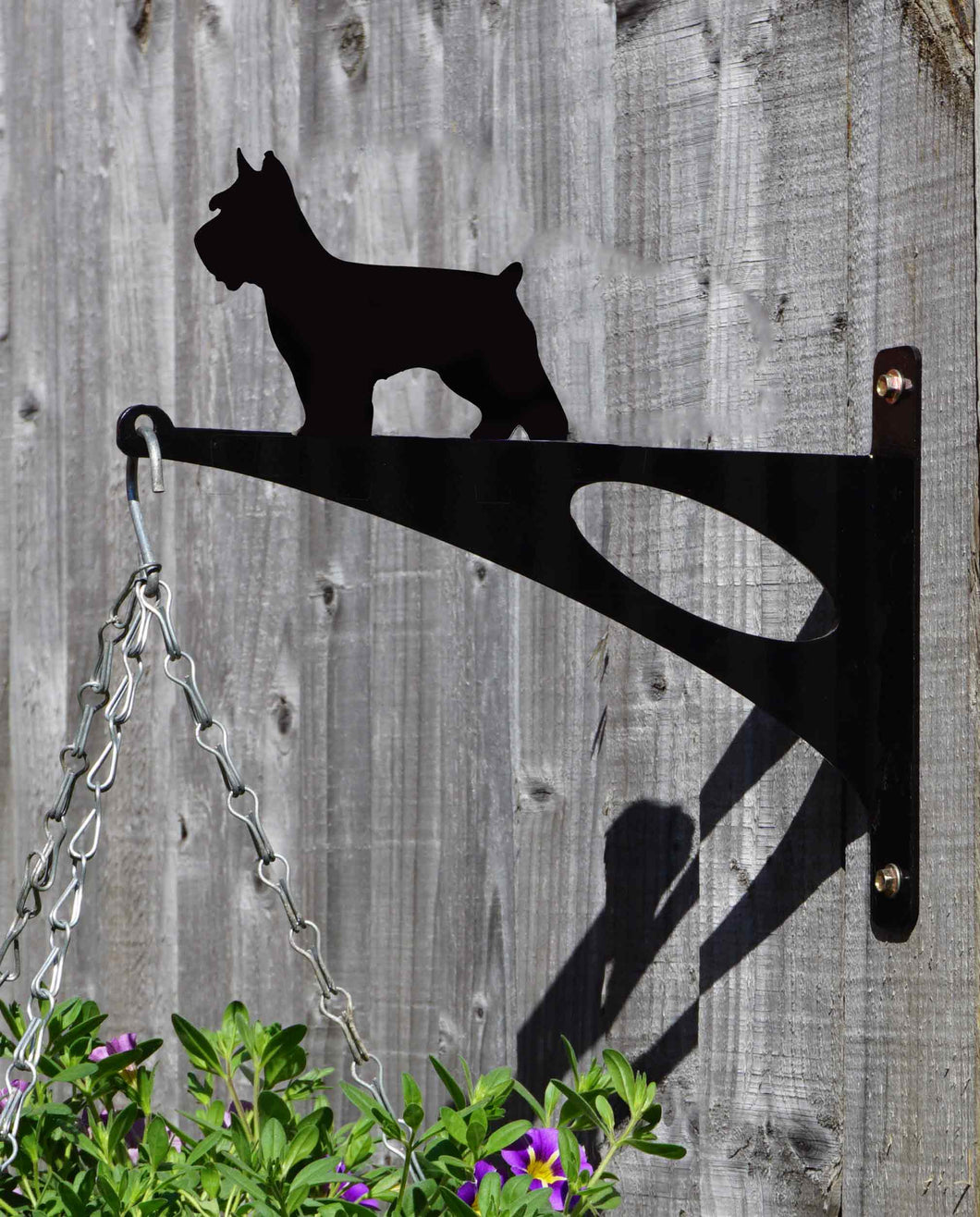 Schnauzer Hanging Basket Bracket