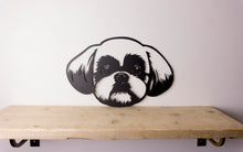 Load image into Gallery viewer, Shih Tzu Dog Wall Art / Garden Art - Unique Metalcraft