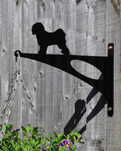 Load image into Gallery viewer, Tibetan Terrier Hanging Basket Bracket