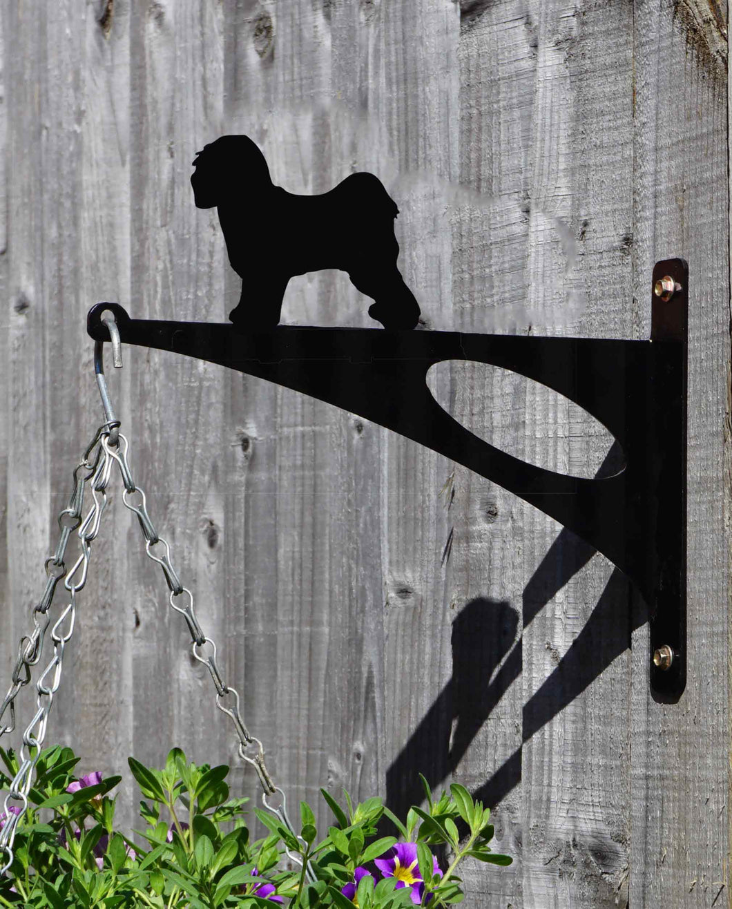Tibetan Terrier Hanging Basket Bracket