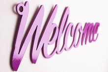 Load image into Gallery viewer, 'Welcome' sign Home wall art