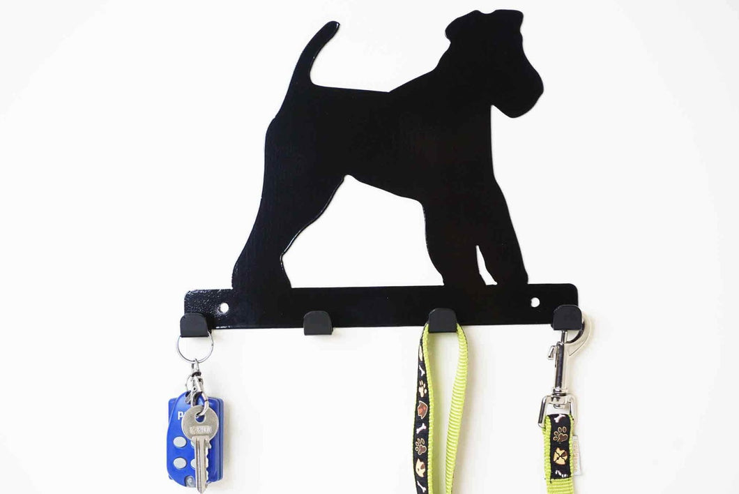 Welsh Terrier  - Dog Lead / Key Holder, Hanger, Hook