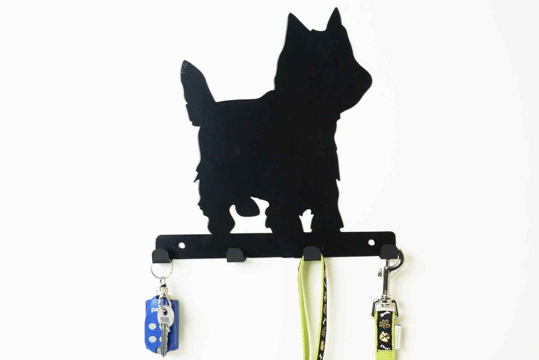 Yorkshire Terrier - Dog Lead / Key Holder, Hanger, Hook