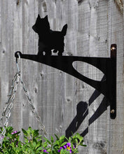 Load image into Gallery viewer, Yorkshire Terrier Hanging Basket Bracket - Unique Metalcraft