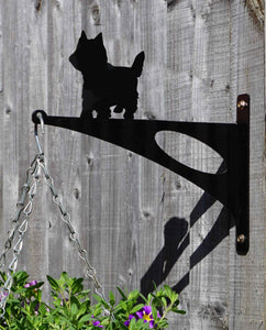 Yorkshire Terrier Hanging Basket Bracket