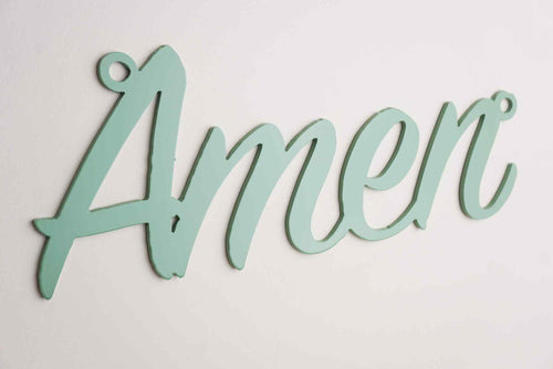 'Amen' sign Home wall art