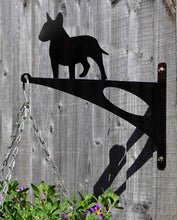 Load image into Gallery viewer, Bull Terrier Hanging Basket Bracket - Unique Metalcraft