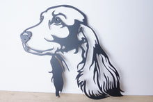 Load image into Gallery viewer, Cocker Spaniel Dog Wall Art / Garden Art - Unique Metalcraft