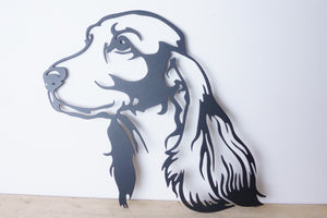 Cocker Spaniel Dog Wall Art / Garden Art - Unique Metalcraft
