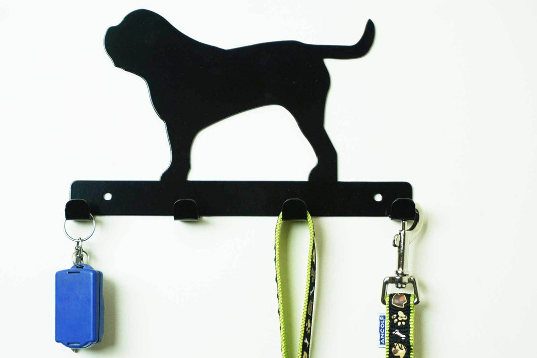 English Mastiff - Dog Lead / Key Holder, Hanger, Hook
