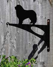 Load image into Gallery viewer, Great Pyrenees Mountain Dog Hanging Basket Bracket
