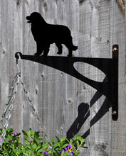 Load image into Gallery viewer, Bernese Mountain Dog Hanging Basket Bracket - Unique Metalcraft