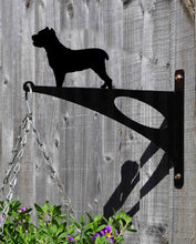 Load image into Gallery viewer, Cane Corso Hanging Basket Bracket