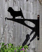 Load image into Gallery viewer, Cairn Terrier Hanging Basket Bracket