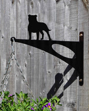 Load image into Gallery viewer, Staffordshire Bull Terrier Hanging Basket Bracket