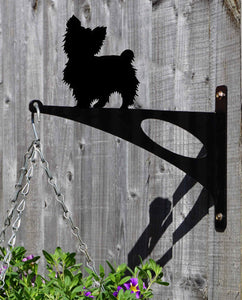 Maltese Terrier Short Haired Hanging Basket Bracket