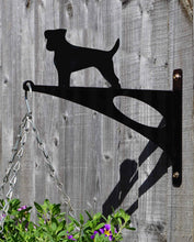 Load image into Gallery viewer, Jack Russell Hanging Basket Bracket