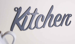 'Kitchen' sign Home wall art