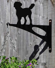 Load image into Gallery viewer, Labradoodle Hanging Basket Bracket