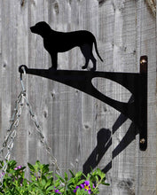 Load image into Gallery viewer, Labrador Retriever Hanging Basket Bracket