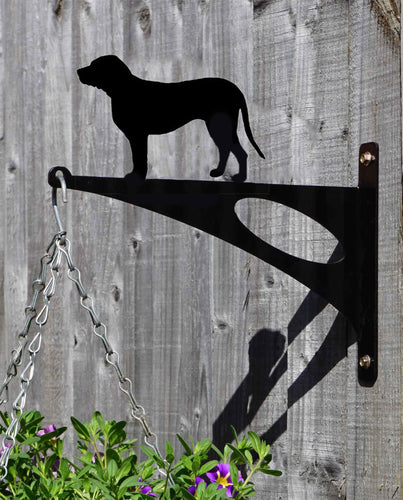 Labrador Retriever Hanging Basket Bracket