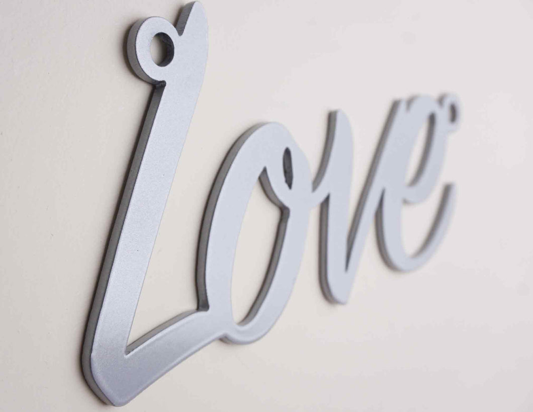 'Love' sign Home wall art