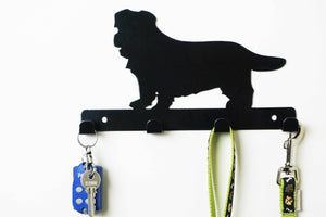 Norfolk Terrier - Dog Lead / Key Holder, Hanger, Hook