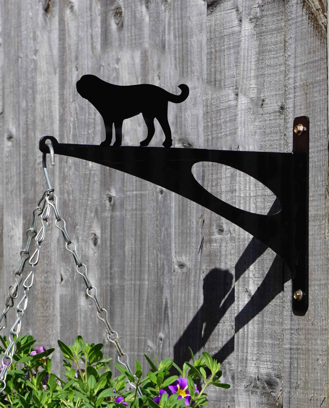 Saint Bernard Hanging Basket Bracket