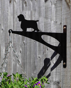 Springer Spaniel Hanging Basket Bracket