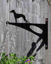 Load image into Gallery viewer, Whippet Hanging Basket Bracket