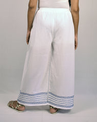 Birju Kantha Embroidered Straight Pants