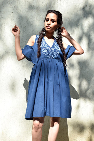 Chirag Cold Shoulder Dress
