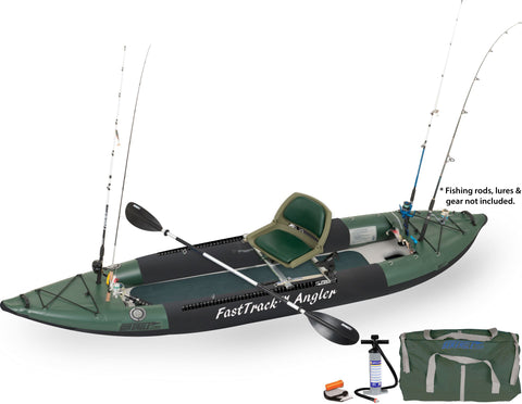 sea eagle swivel seat angler fasttrack inflatable fishing boat