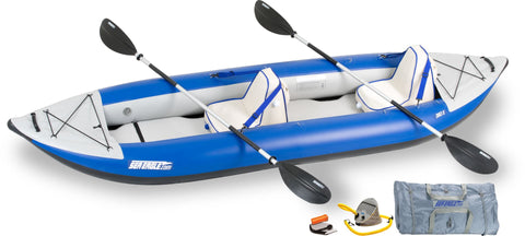 sea eagle 380x explorer deluxe package inflatable kayak