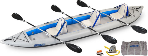 deluxe sea eagle inflatable 465ftk kayak