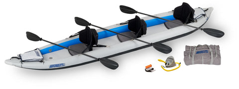 Pro carbon fast track 465ft inflatable kayak sea eagle