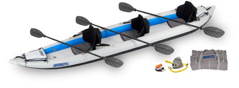 pro 465ft fast track inflatable kayak sea eagle