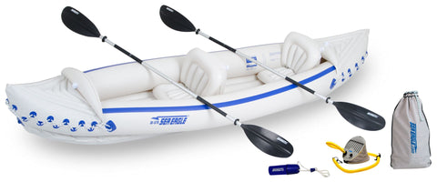 deluxe sea eagle inflatable sport kayak