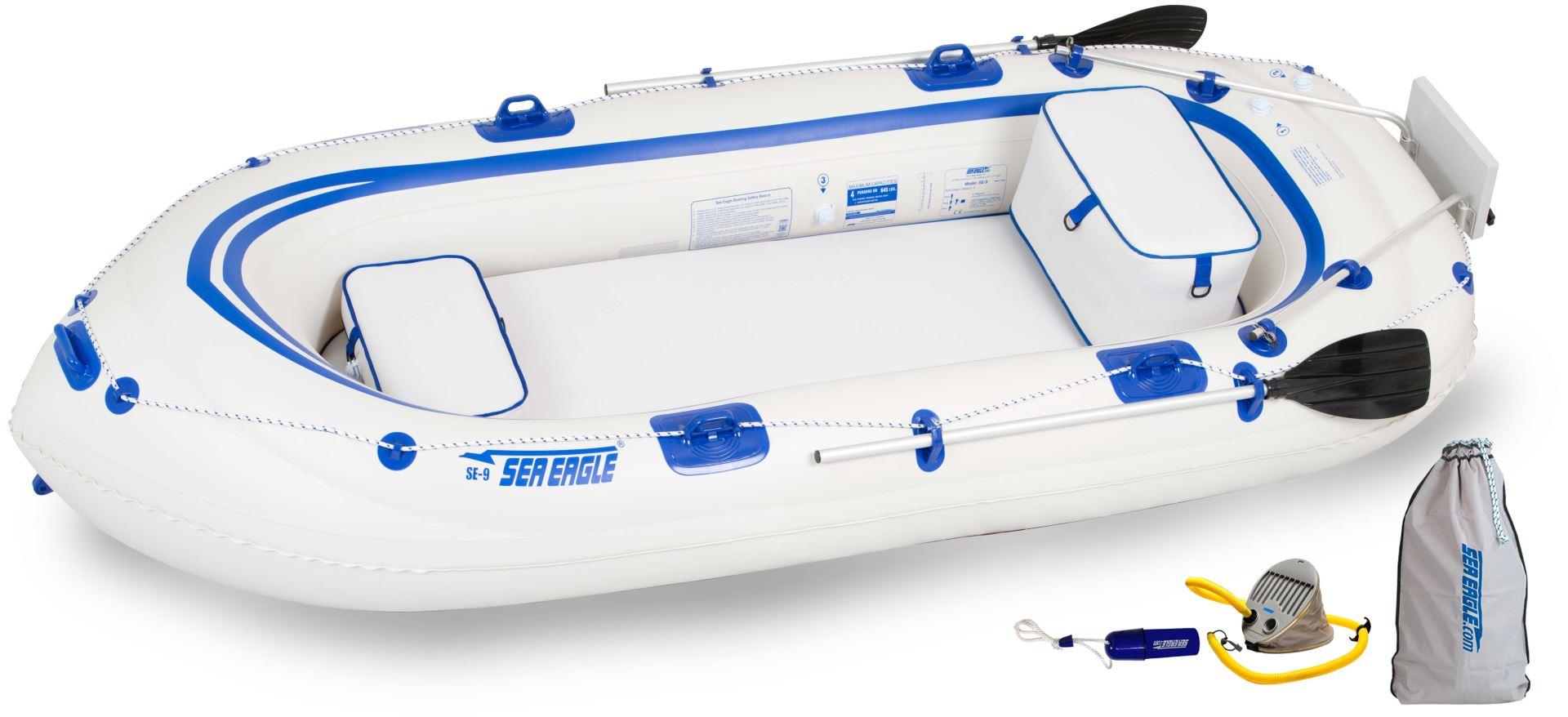 fishing raft sea eagle 9 inflatable