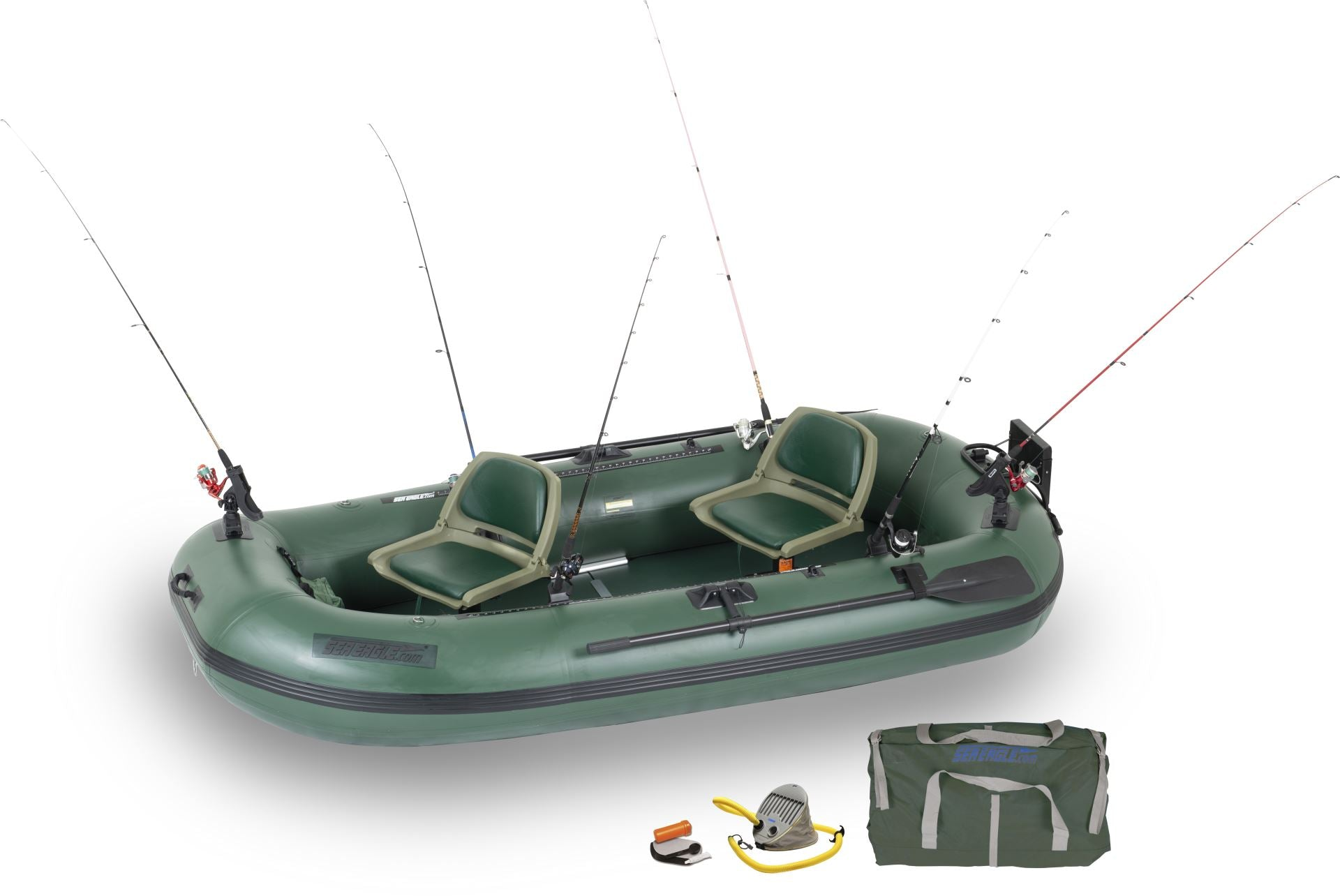 pro stealth 10 inflatable fishing boat sea eagle
