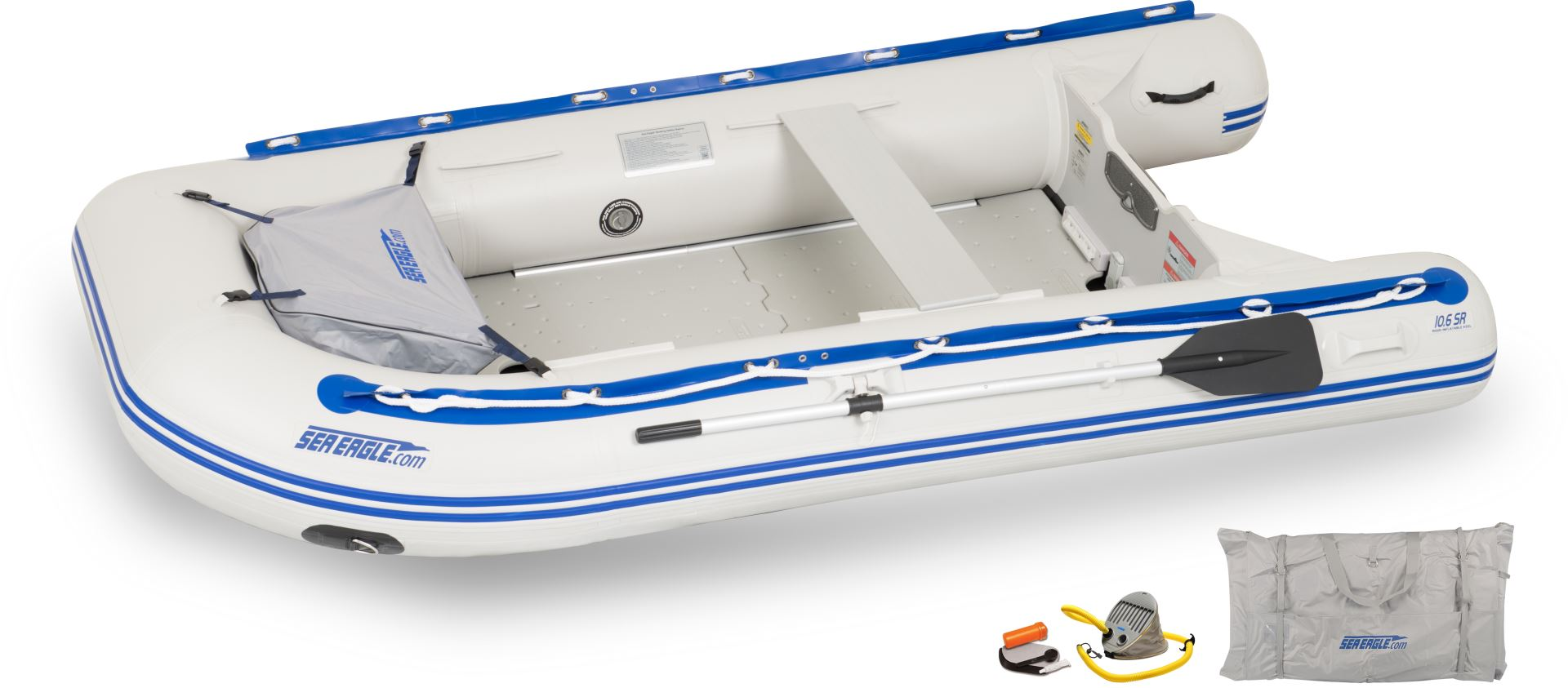 deluxe sea eagle inflatable raft sport runabout