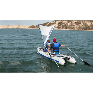 Catamaran - SeaEagle 435ps PaddleSki Inflatable Catamaran Kayak