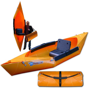 Folding Kayak - TuckTec Folding Portable One Person Kayak