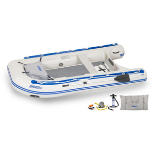 "Inflatable Boat - SeaEagle 10'6"" Inflatable Sport Runabout Boat"