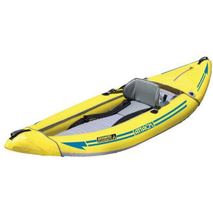 Inflatable Kayak - Advanced Elements Attack Whitewater 1 Person Inflatable Kayak: AE1050-Y