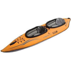 Inflatable Kayak - Advanced Elements Lagoon 2 Person Inflatable Kayak: AE1033-O