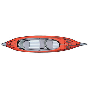 Inflatable Kayak - Advancedframe Convertible Inflatable 2 Person Kayak: AE1007